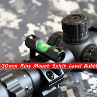 Alloy Bolt On Rifle Scope Bubble Spirit Level For 30mm Ring Mount Holder Hunting