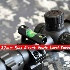 New 30mm Airgun Rifle Scope Ring Mount Holder Level Bubble Alloy Bolt On