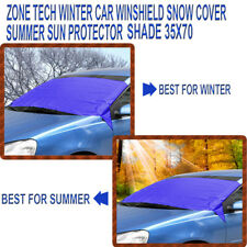 Zone Tech  Winter Car Windshield Snow Cover Summer Sun Protector Shade Shield
