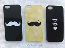 Cute Moustache Printed iPhone 5 5s Case for Apple iPhone 5