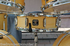 "GRETSCH CATALINA CLUB 14"" SNARE in SATIN NATURAL for DRUM SET LOT #G894"