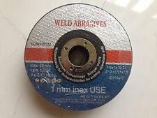 115mm INOX Super Thin Cutting Discs x 25 ** TOP QUALITY