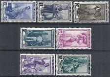 1955-57 ITALIA ITALIA AL LAVORO STELLE MNH ** - RR12728