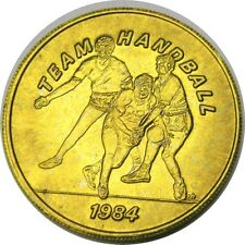 elf 1984 Olympics Bus Token  Team Handball