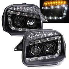 Jimny Wide Sierra JB23/JB33/JB43/JB53 1998+ R8 DRL Faro Fanale LED Black SUZUKI