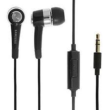 Authentic Samsung Handsfree Headphones Earphones EHS44ASSBE for Galaxy - New