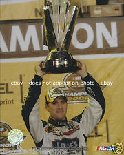 JIMMIE JOHNSON LOWES NASCAR NEXTEL CUP SERIES CHASE CHAMPION 8 X 10 PHOTO #02