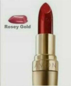 Avon 24k ROSEY GOLD Lipstick Ultra Colour Rich Sealed Rare Discontinued FASTPOST