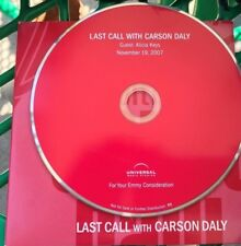 LAST CALL WITH CARSON DALY For Your EMMY Consideration DVD Alicia Keys  2007 FYC