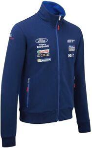 Ford Performance Herren Team Sweatshirt GT Racing Motorsport Sweat Jacke, XXL