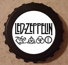 """Led Zeppelin Bottle Opener Refrigerator Magnet 3"""" B25 Kitchen Bar Gift"""