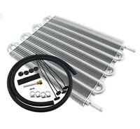 8 Row Aluminum  Auto-Manual Radiator Converter  Remote Transmission Oil Cooler
