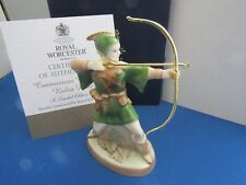 ROBIN HOOD CANDLE SNUFFER CONNOISSEUR COLLECTION ROYAL WORCESTER NEW IN BOX