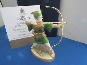 ROBIN HOOD CANDLE SNUFFER LIMITED EDITION CONNOISSEUR COLLECTION ROYAL WORCESTER