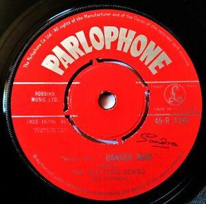 RED PRICE COMBO Danger Man Theme VINYL 45 Mod Jazz Cult TV UK Parlophone 1961 Ex