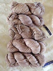 Malabrigo Rios Yarn Sand Bank Worsted Superwash Merino Wool 210 yards Lot of 5
