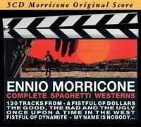 ENNIO OST/MORRICONE - COMPLETE SPAGHETTI WESTERN 5 CD NEU MORRICONE,ENNIO
