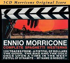 ENNIO OST/MORRICONE - COMPLETE SPAGHETTI WESTERN 5 CD NEW! MORRICONE,ENNIO