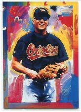 1997 Topps Gallery Peter Max Serigraphs 7 Cal Ripken Jr.