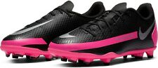 Nike Junior Phantom GT Club FG Soccer Cleats - CK8479-006 - Black/Pink
