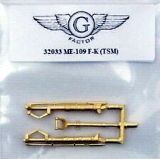 G Factor 1/32 Me109F/K metal landing gear 32033 g  for Trumpeter