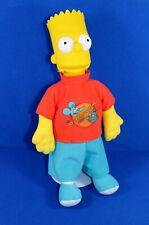Die SIMPSONS BART Figur Puppe 40 cm Gummikopf Stoff Fanartikel 90er Jahre alt