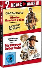 FÜR EINE HANDVOLL DOLLAR + FÜR EIN PAAR DOLLAR MEHR (2 DVDs) NEU+OVP