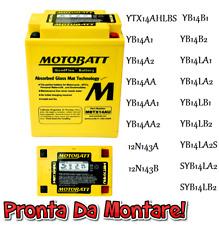 Motobatt Batteria Sigillata Attiva 12V 16Ah GILERA Nordwest 93 600