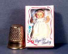 Dollhouse Miniature 1:12 scale  Bye Lo Baby Doll Box  dollhouse girl nursery