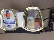 Vintage Advertising Anheuser-Busch Natural Light Beer Bar Sign Cash Register Top