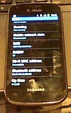 Samsung Galaxy S Blaze SGH-T769  - 4GB - Black (T-Mobile) - Used - Works