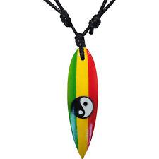 Surfboard Pendant Chain Surf Necklace Mens Womens Boys Girls Surfer Jewellery