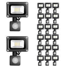 20PCS 10W LED Floodlight PIR LEMBRD Warm Garden Lighting Outdoor Security Light