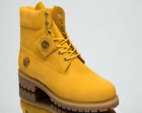 Timberland 6 Inch Premium Waterproof Boots Men's Lifestyle Shoes Yellow A1QXS