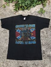 Vintage 1990s Sworn To Fun Loyal To None Biker Trucker Black Large T-shirt Shirt