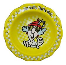 Vintage Hallmark Cards Maxine J. Wagner Large Plastic Bowl Cookie Chips Party