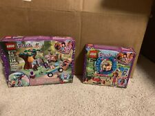 New Lot Of 2 Lego Friends Mia's Forest Adventure 41363 And Olivia Hamster 41383