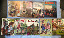 Vintage Lot Of 9 1971 Super Sex to Sexty Magazines.