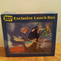 Best Buy Exclusive Walt Disney Peter Pan Tin Lunchbox Platinum Edition Animated