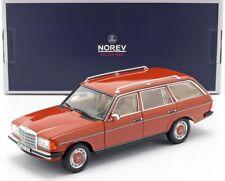 NOREV183732 - Coche Estate Familiar Mercedes 200T De 1982 De Color Rojo Junio