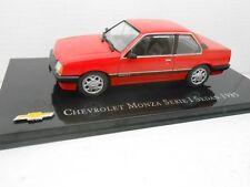 COCHE CHEVROLET MONZA SERIE I SEDAN 1985  METAL MODEL CAR 1/43 1:43 SALVAT