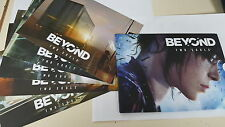 Beyond Two Souls Artcards / Paranormal Test Cards - 5 Cards Per Set - Brand New