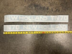 TN70 NEW HOLLAND TRACTOR DECAL