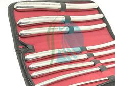 Harnröhren Hegar Dilatator Töne chirurgisch Gyne Instrumente 8 stk. Set CE