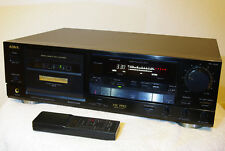 AIWA AD-F 910 HiFi-Stereo Tapedeck Cassettendeck Kassettendeck mit Fernbedienung