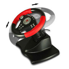 Dual Shock Steering Wheel USB/PS2/PS3 Mario Kart Racing Wheel For Remote Game