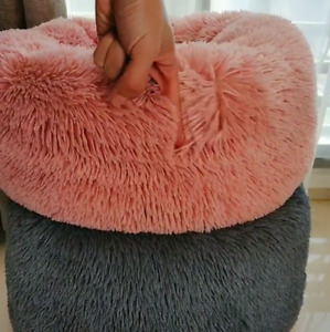 Pet Cat Small Dog Basket Soft Bed Met House Artificial wool (S/M) Free Shipping