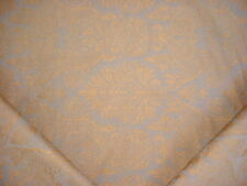 COLEFAX FOWLER COPPER GRAY IMPERIAL BLOSSOM DAMASK UPHOLSTERY FABRIC