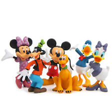 6pcs Disney Mickey Mouse Clubhouse Figurine Cute Figure Set Cake Topper
