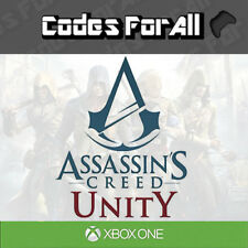 Assassins Creed Unity Xbox One CODE INSTANT DISPATCH Works Worldwide